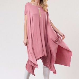NEW Boutique,oversized poncho, shirt, top, dress